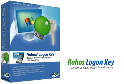دانلود Rohos Logon Key v3.2.0 - نرم افزار ایجاد قفل برای ویندوز توسط USB