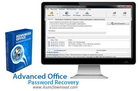 دانلود Advanced Office Password Recovery v6.01.632 - نرم افزار بازیابی پسورد فایل های آفیس