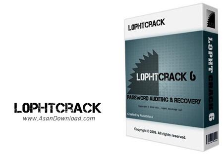 دانلود L0phtCrack v6.0.18 - نرم افزار شکستن و یافتن پسورد ویندوز