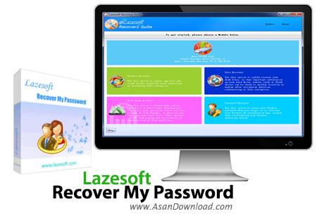 دانلود Lazesoft Recover My Password Unlimited Edition v4.2.3.1 - نرم افزار بازیابی پسوردها