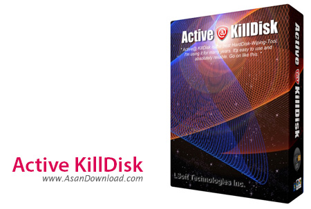 دانلود Active KillDisk v9.0.533 - نرم افزار پاکسازی کامل اطلاعات برای همیشه