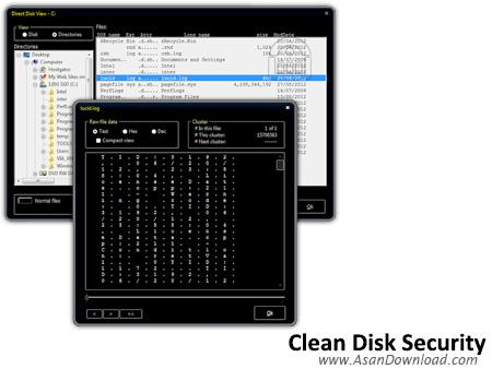دانلود Clean Disk Security v8.08 - نرم افزار حذف ایمن اطلاعات هارد دیسک