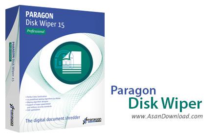 دانلود Paragon Disk Wiper v10.1.25.328 - نرم افزار پاکسازی کامل اطلاعات