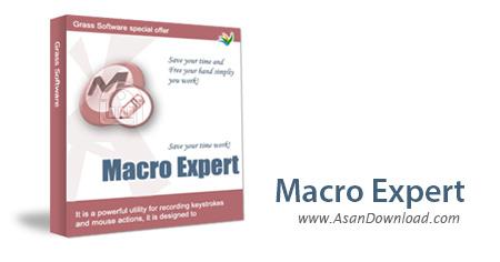 دانلود Macro Expert v4.2.4481 - نرم افزار انجام کارهای تکراری