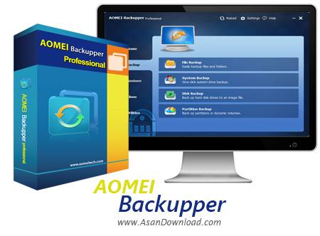 دانلود AOMEI Backupper Pro + Technician + Technician Plus + Server v4.0.5 + WinPE Boot ISO - نرم افزار تهیه نسخه پشتیبان از هارد و پارتیشن ها
