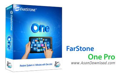 دانلود FarStone One Pro v1.4 + Server v1.2 - نرم افزار تهیه نسخه پشتیبان