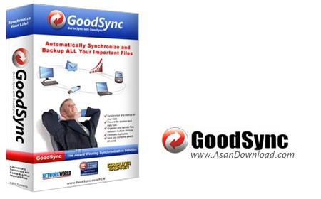 دانلود GoodSync Enterprise v11.5.7.7 - نرم افزار تهیه نسخه پشتیبان و همگام سازی فایل و برنامه ها