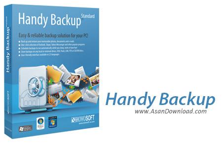 دانلود Handy Backup v6.2.5 - نرم افزار Backup گرفتن از فایل ها
