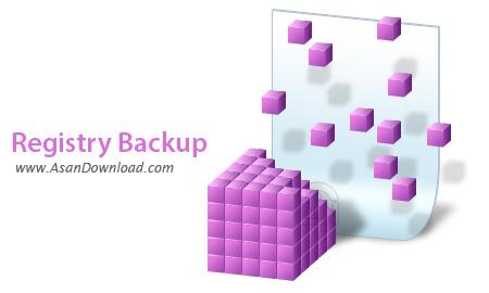 دانلود Registry Backup v1.10.1 - نرم افزار تهیه نسخه پشتیبان از رجیستری ویندوز