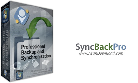 دانلود SyncBackPro v8.5.62.0 - نرم افزار تهیه نسخه پشتیبان از اطلاعات