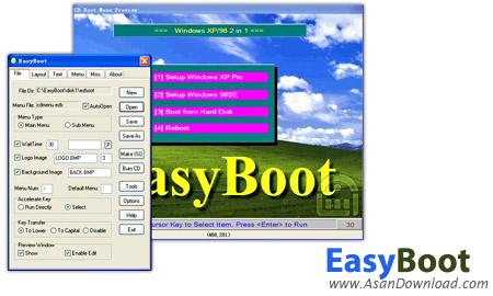 دانلود EasyBoot v6.6.0.800 - نرم افزار ساخت سی دی بوتیبل