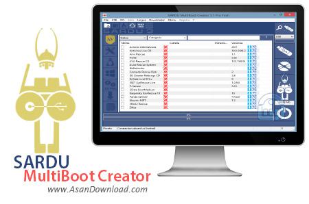 دانلود SARDU MultiBoot Creator v3.2.1 - نرم افزار ساخت بوت چندگانه