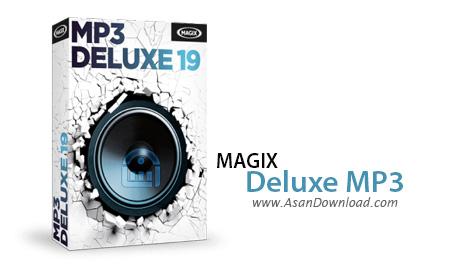 دانلود MAGIX MP3 Deluxe v19.0.1.47 - نرم افزار مدیریت فایل های موسیقی