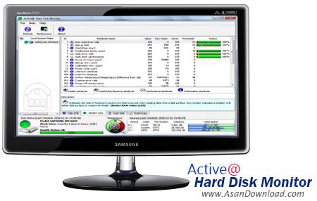 دانلود Active@ Hard Disk Monitor Pro v3.1.9 - نرم افزار محافظت کامل از هارد دیسک