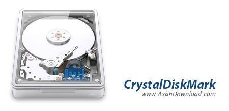 دانلود CrystalDiskMark v6.0.1 - نرم افزار تست سرعت هارددیسک