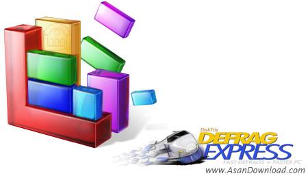 دانلود DefragExpress v1.46 - نرم افزار یکپارچه سازی فضای هارد دیسک