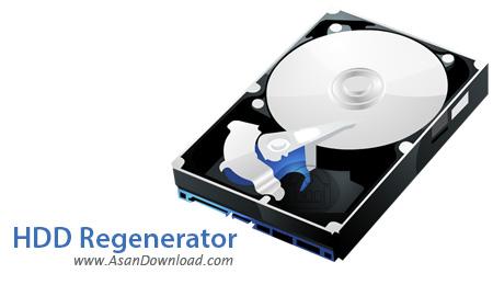 دانلود HDD Regenerator v11.0011 - نرم افزار مدیریت و رفع عیب های هارددیسک