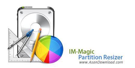 دانلود IM-Magic Partition Resizer v3.5.0 - نرم افزار تغییر سایز پارتیشن ها در ویندوز