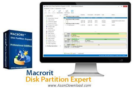 دانلود Macrorit Disk Partition Expert v5.0.0 - نرم افزار مدیریت پارتیشن