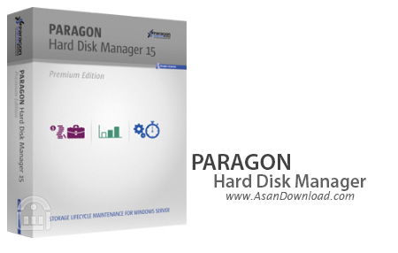 دانلود Paragon Hard Disk Manager 15 Premium v10.1.25.813 - نرم افزار مدیریت هارددیسک