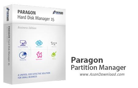 دانلود Paragon Partition Manager 15 Pro v10.1.25.779 x86/x64 + Boot Medias - نرم افزار مدیریت پارتیشن ها