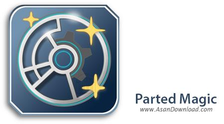 دانلود Parted Magic v2015.05.04 - سی دی بوتیبل پارتیشن بندی هارد دیسک
