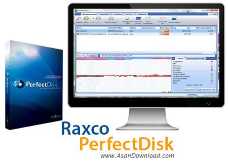 دانلود Raxco PerfectDisk v13.0 - نرم افزار یکپارچه سازی هارددیسک