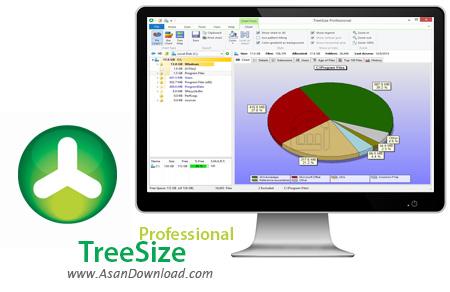 دانلود TreeSize Pro v7.1.1.1454 - نرم افزار مدیریت فضای هارد دیسک