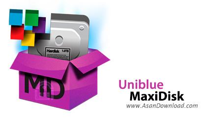 دانلود Uniblue MaxiDisk v1.0.9.3 - نرم افزار یکپارچه سازی هارددیسک