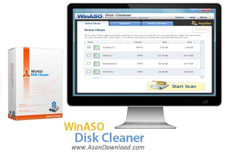 دانلود WinASO Disk Cleaner v3.0.0 - نرم افزار پاکسازی هارددیسک