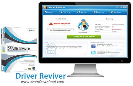 دانلود Driver Reviver v5.25.3.4 - نرم افزار مدیریت حرفه ای درایورها