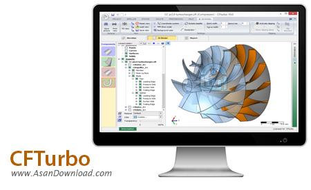دانلود CFTurbo v10.1.1.669 - نرم افزار تخصصی طراحی توربین