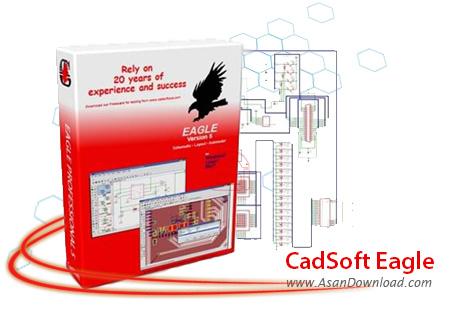 دانلود CadSoft Eagle Professional v7.3.0 - نرم افزار طراحی مدارات الکترونیکی