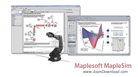 دانلود Maplesoft MapleSim v2019.1 - نرم افزار مدل سازی و شبیه سازی
