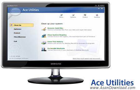 دانلود Ace Utilities v6.1.0 Build 284 - مجموعه نرم افزار بهینه سازی و افزایش کارایی ویندوز