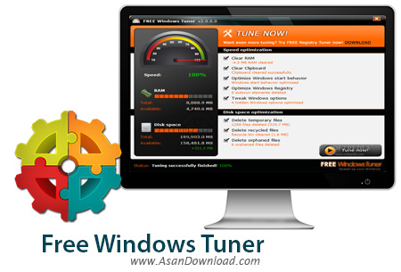 دانلود Free Windows Tuner v2.0.1.3 - نرم افزار افزایش سرعت ویندوز