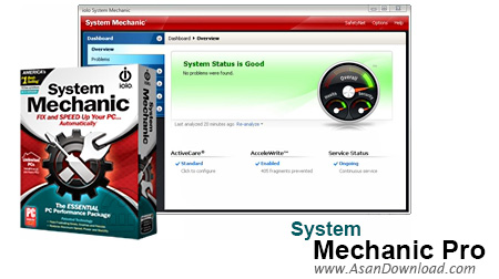 دانلود System Mechanic Pro v16.5.1.27 - نرم افزار بهینه ساز کامل ویندوز