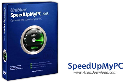 دانلود Uniblue SpeedUpMyPC v6.0.9.2 - نرم افزار افزایش سرعت و کارآیی ویندوز