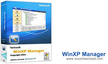 دانلود Yamicsoft WinXP Manager v8.0.1 - نرم افزار مدیریت ویندوز ایکس پی