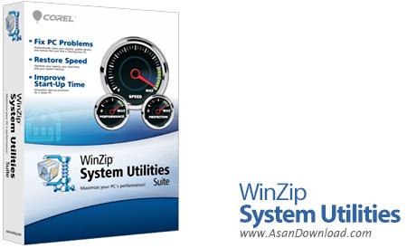 دانلود WinZip System Utilities Suite v3.7.2.4 - نرم افزار بهینه سازی و افزایش سرعت و عملکرد سیستم