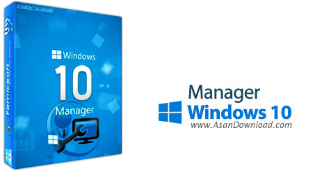 دانلود Windows 10 Manager v2.1.2 - نرم افزار مدیریت ویندوز 10
