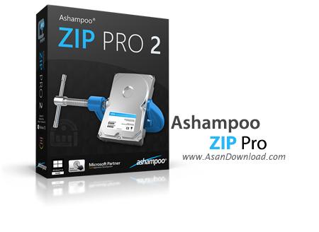 دانلود Ashampoo ZIP Pro v2.0.0.43 - نرم افزار فشرده سازی فایل