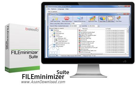 دانلود FILEminimizer Suite v8.0 - نرم افزار فشرده سازی عکس ها و مجموعه آفیس