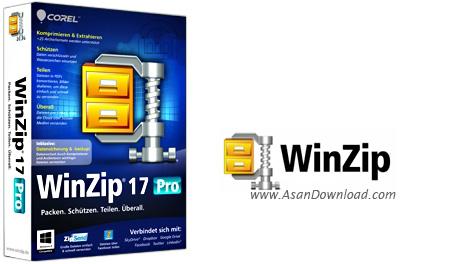 دانلود WinZip Pro v22.0 Build 12670 - نرم افزار فشرده سازی فایل ها