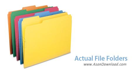دانلود Actual File Folders v1.11.2 - نرم افزار دسترسی سریعتر به فولدرها