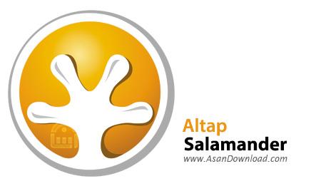 دانلود Altap Salamander v3.07 - نرم افزار مدیریت فایل ها