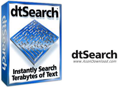 دانلود DtSearch Desktop v7.85.8430 + Engine v7.85.8430 - نرم افزار جستجوی فایل ها در سیستم