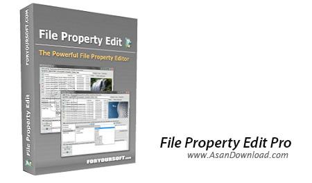 دانلود File Property Edit Pro v3.80 - نرم افزار ویرایش خصوصیات فایل ها