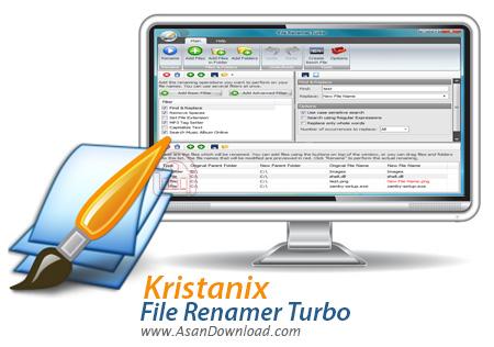 دانلود Kristanix File Renamer Turbo v2.73 - نرم افزار تغییر نام دسته ای فایل ها