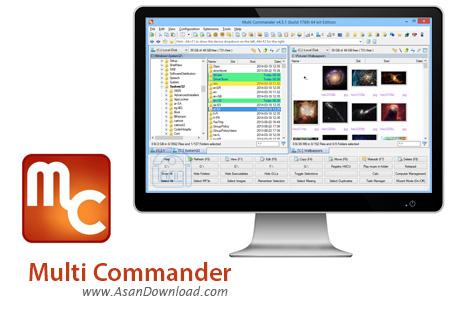 دانلود Multi Commander v7.1.0 Build 2347 - نرم افزار مدیریت فایل ها در ویندوز